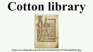 Download Cotton library Video