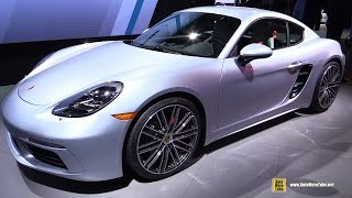 Download 2017 Porsche 718 Cayman S - Exterior and Interior Walkaround - 2016 LA Auto Show Video
