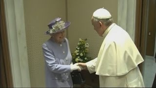 Download The Queen meets the Pope in the Vatican City - Director's Cut Video