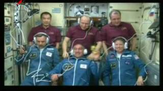 Download Стыковка КК Союз ТМА-18 с МКС. Soyuz TMA-18 and the ISS docking. Video