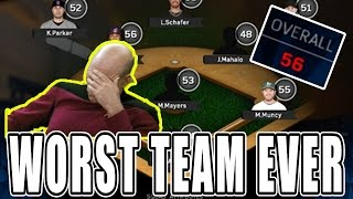Download CAN A 56 OVERALL TEAM BEAT THE CHICAGO CUBS?! MLB The Show 16 | Diamond Dynasty Video