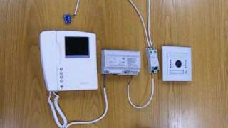Download BTicino 2 Wire Swing Intercom Video