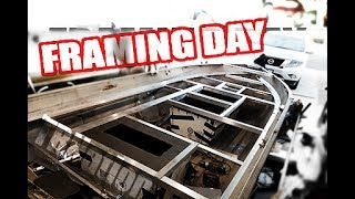 Download Non-welded Aluminum Boat Framing for boats/small boats/ jon boats/ bass boats/ tiny boats. Video