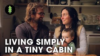 Download Living Simply in a Tiny Off-Grid Cabin Video