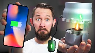 Download FIRE-Powered Phone! | 10 Ridiculous Tech Gadgets Video