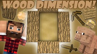 Download If a Wood Dimension was Added - Minecraft Video