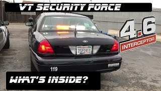 Download Whats Inside This Security Force Crown Victoria! Police Interceptor 2017 Video
