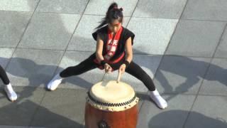Download Sensational Young Taiko drummers - Powerful, brilliant. Nagasaki, Japan. Part 1. Video
