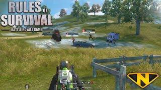 Download Sniper/Shotgun Only Squads (Rules of Survival: Battle Royale #74) Video