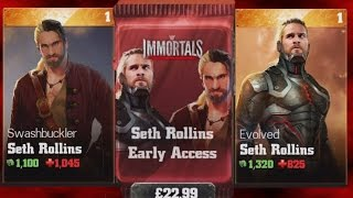 Download WWE Immortals (iOS/Android) OPENING SETH ROLLINS EARLY ACCESS PACK Video