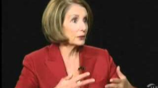 Download Nancy Pelosi Makes a Fool of Herself on Charlie Rose's Show Video