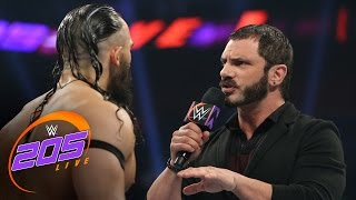 Download Austin Aries delivers a ″WrestleMania message″ to Neville: WWE 205 Live, March 21, 2017 Video