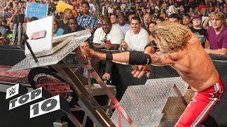Download Superstars Demolishing WWE Equipment - WWE Top 10 Video