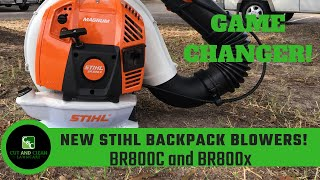 Download STIHL BR800 Backpack Blower | New BR800c and BR800X Magnum Video
