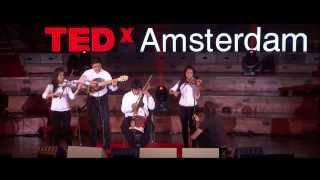Download The world sends us garbage, we send back music: Favio Chavez at TEDxAmsterdam Video
