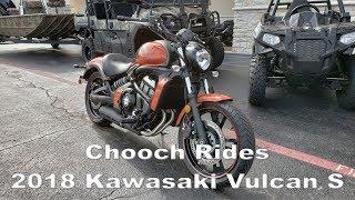 Download Chooch Rides - 2018 Kawasaki Vulcan S Video