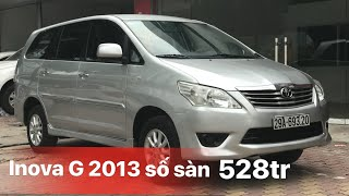 Download ( da ban )XE 7 CHỖ GIÁ TỐT| bán Toyota Inova G 2013 số sàn biển Hà Nội | LH Video