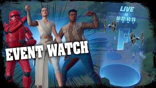 Download FORTNITE EVENT WATCH - STAR WARS EVENT COUNTDOWN LIVE - RISKY REELS FINAL ( STAGE 5 ) COMING TONIGHT Video
