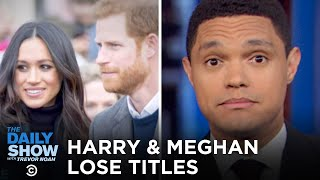 Download Harry & Meghan Shed Titles, Harvey Weinstein Convicted & Coronavirus Goes to Italy | The Daily Show Video