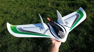 Download First attempt at fixed wing Video