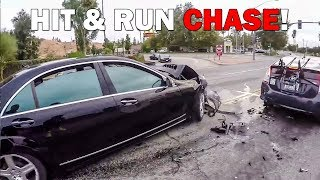Download CRAZY HIT & RUN CHASE | CRAZY, STUPID & ANGRY PEOPLE vs BIKERS | [Ep. #302] Video