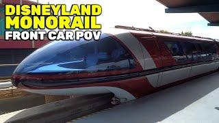 Download Monorail front car POV FULL CIRCUIT ride at Disneyland Video