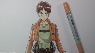 Download Drawing Eren Jeager - Attack on Titan Video