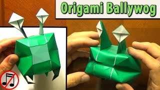 Download Origami Ballywog Video