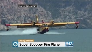 Download Super Scooper Helps U.S. Forest Service Get Handle On California Wildfires Video