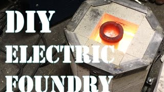 Download How to Make an Electric Foundry For Metal Casting - Part 1 Video