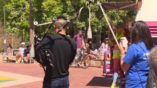 Download Bagpipe Flash Mob @ Curtin Video