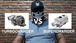 Download Turbocharger VS Supercharger Video