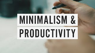 Download How Minimalism Can Make You More Productive Video