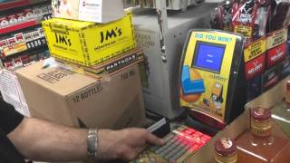 Download Buying $2700 worth of lottery scratchers Video