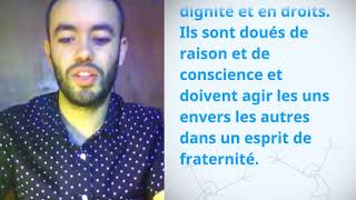 Download UDHR Video Article 1 French Français Mohamed Ouiss Video