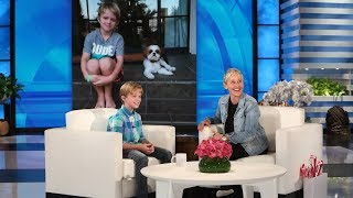 Download Ellen Meets a 10-Year-Old Raising Money for Hearing Impaired Video