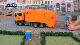 Download Scania Müllabfuhr - 03560 - BRUDER Spielwaren Video