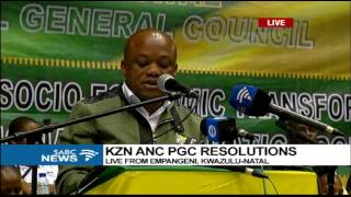 Download KZN ANC PGC adopts resolutions, 25 June 2017 Video