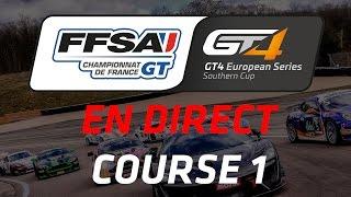 Download Championnat de France FFSA GT - GT4 European Series Southern Cup - Course 1 - Grand Prix de Pau Video