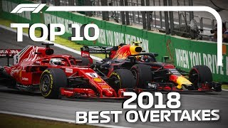 Download Top 10 Overtakes of 2018 Video