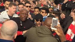 Download Arsenal Fans FIGHT Robbie From ArsenalFanTV!! | Arsenal Fight | Football Fights Video