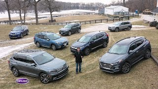 Download 2019 Compact SUV Challenge — Cars Video