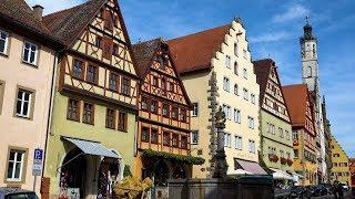 Download Rothenburg ob der Tauber, Germany in 4K Ultra HD Video