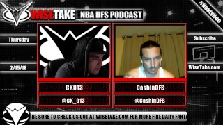 Download NBA FanDuel & DraftKings Podcast - 2/15/18 w/ @CK 013 & @CashinDFS Video