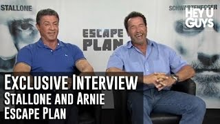 Download Sylvester Stallone & Arnold Schwarzenegger - Escape Plan Exclusive Interview Video
