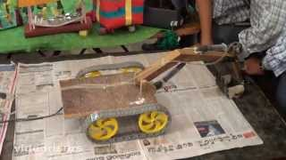 Download How to Make Jcb Procliner with Waste Materials - Ist Prize in Inspire Science Exhibition 2013 Video