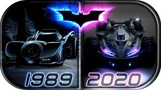 Download EVOLUTION of BATMOBILE in Movies & TV series (1943-2020)🙊 The Batman 2020 concept batmobile trailer Video