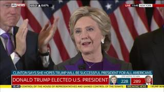 Download Hillary Clinton's concession speech Video