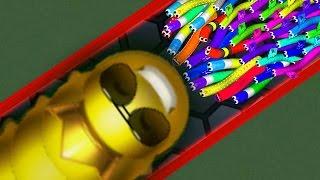 Download Wormax.io - GOLDEN HACKER WORM vs 14500 WORMS! // Epic Wormaxio Gameplay (Wormaxio Funny Moments) Video