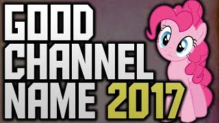 Download How To Think Of A Good YouTube Channel Name 2017! Video